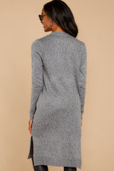 8 Holding Hands Grey Cardigan at reddressboutique.com