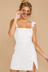 4 Clear Blue Sky White Dress at reddressboutique.com