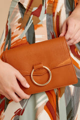 1 Good Omens Brown Clutch at reddress.com