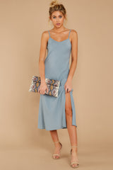 1 Simple Glance Sky Blue Midi Dress at reddressboutique.com