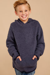 4 CozyChic® Pacific Blue Youth Pullover Hoodie at reddressboutique.com