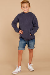 6 CozyChic® Pacific Blue Youth Pullover Hoodie at reddressboutique.com