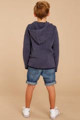 8 CozyChic® Pacific Blue Youth Pullover Hoodie at reddressboutique.com