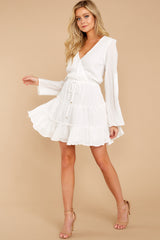 Whisper Sweet Nothings White Dress at reddressboutique.com