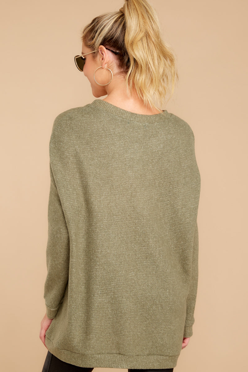 Down The Road Olive Top