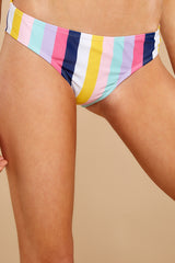 1 Sweet Like Candy Stripe Bikini Bottom at reddress.com