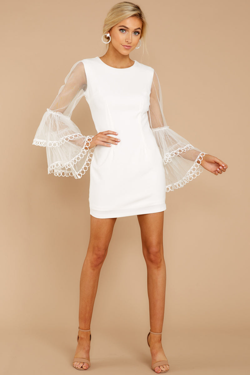 2 A Night To Remember White Dress at reddress.com