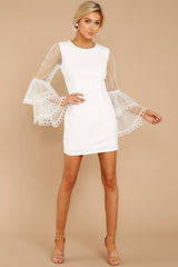 1 A Night To Remember White Dress at reddressboutique.com
