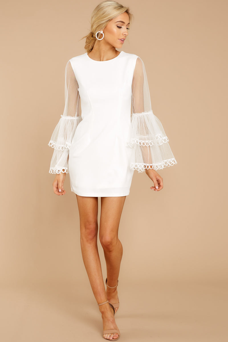 2 A Night To Remember White Dress at reddressboutique.com