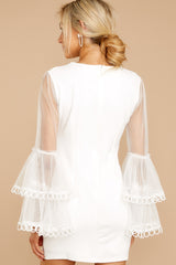 6 A Night To Remember White Dress at reddressboutique.com