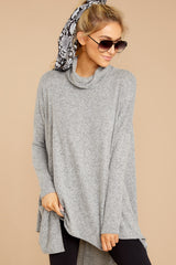 6 These Days Grey Top at reddressboutique.com