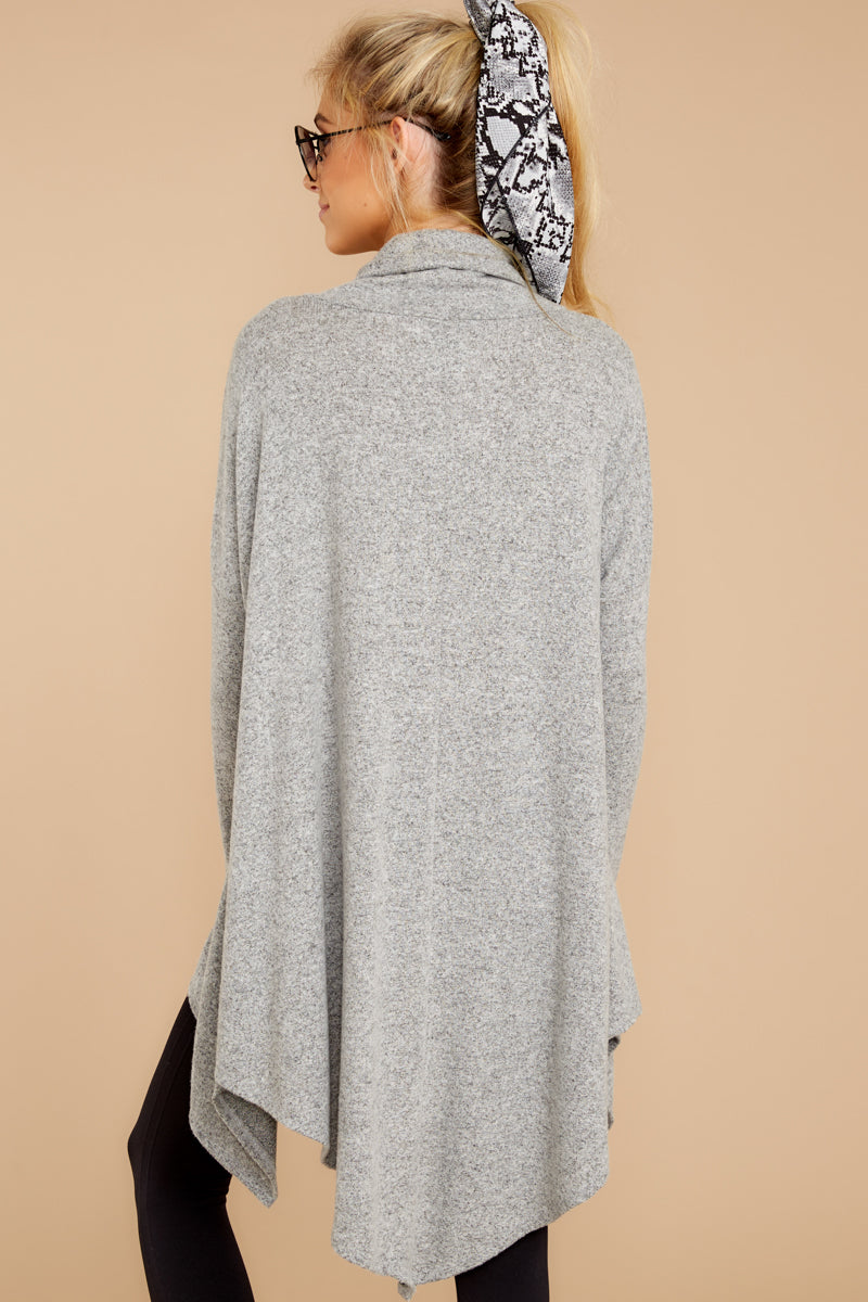 7 These Days Grey Top at reddressboutique.com