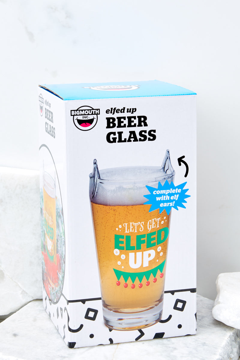 Elfed up Beer Glass