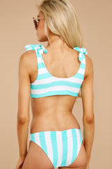 8 Coastal State Of Mind Island Blue Stripe Bikini Top at reddressboutique.com