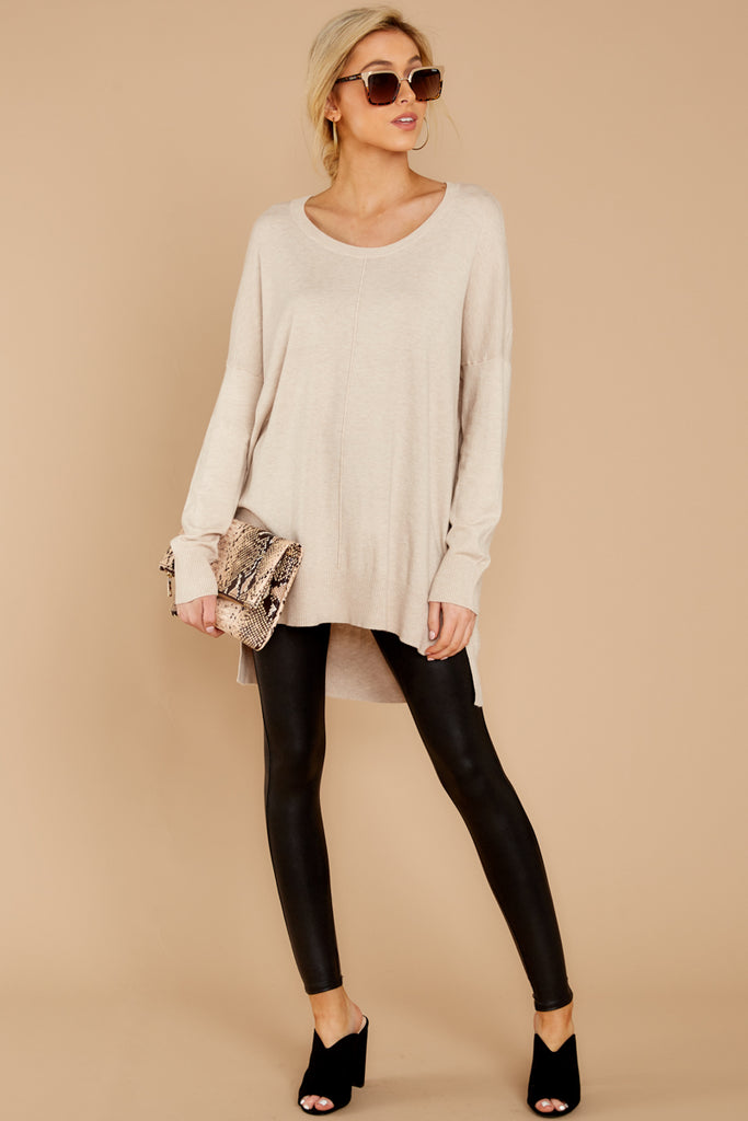 1 You're A Classic Cream Sweater at reddressboutique.com