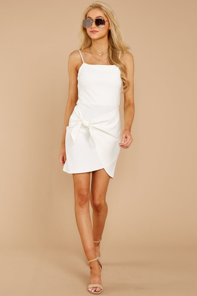 1 Out For The Night White Dress at reddressboutique.com