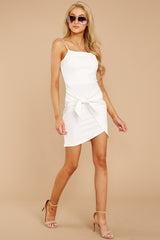 2 You'll Miss Me White Dress at reddressboutique.com