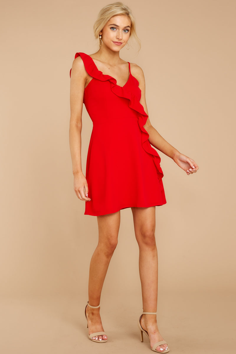 1 Always Be With You Red Dress at reddressboutique.com