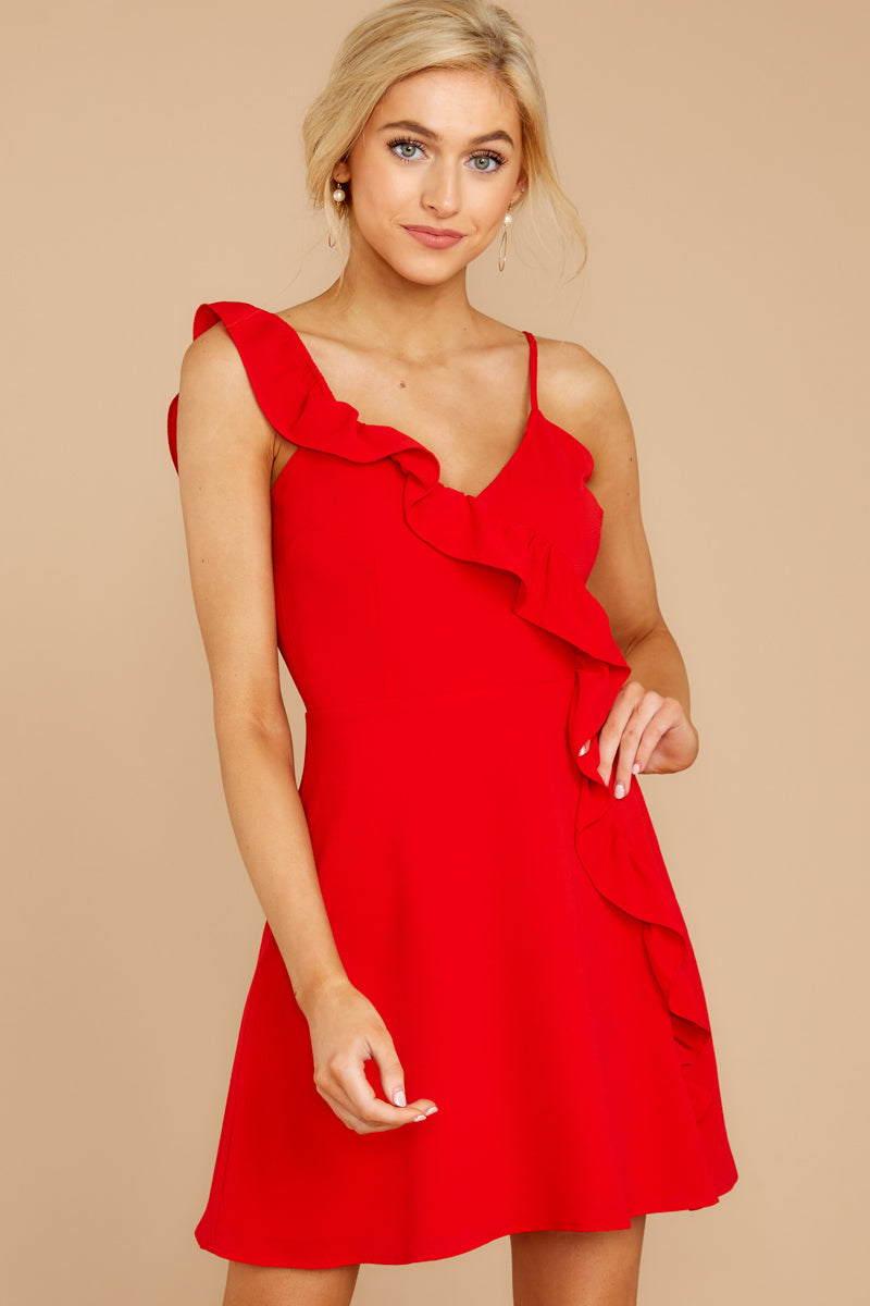 4 Always Be With You Red Dress at reddressboutique.com