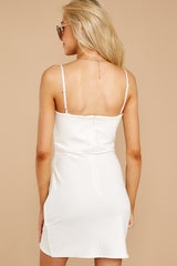 6 You'll Miss Me White Dress at reddressboutique.com
