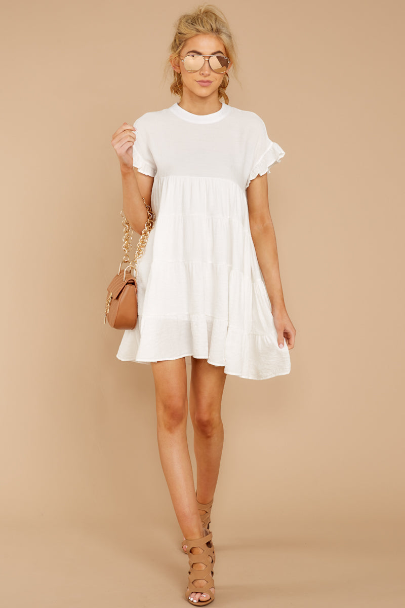 1 Nothing More Nothing Less White Dress at reddressboutique.com