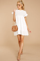 2 Nothing More Nothing Less White Dress at reddressboutique.com