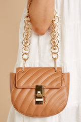 3 Goes With It All Brown Purse at reddressboutique.com