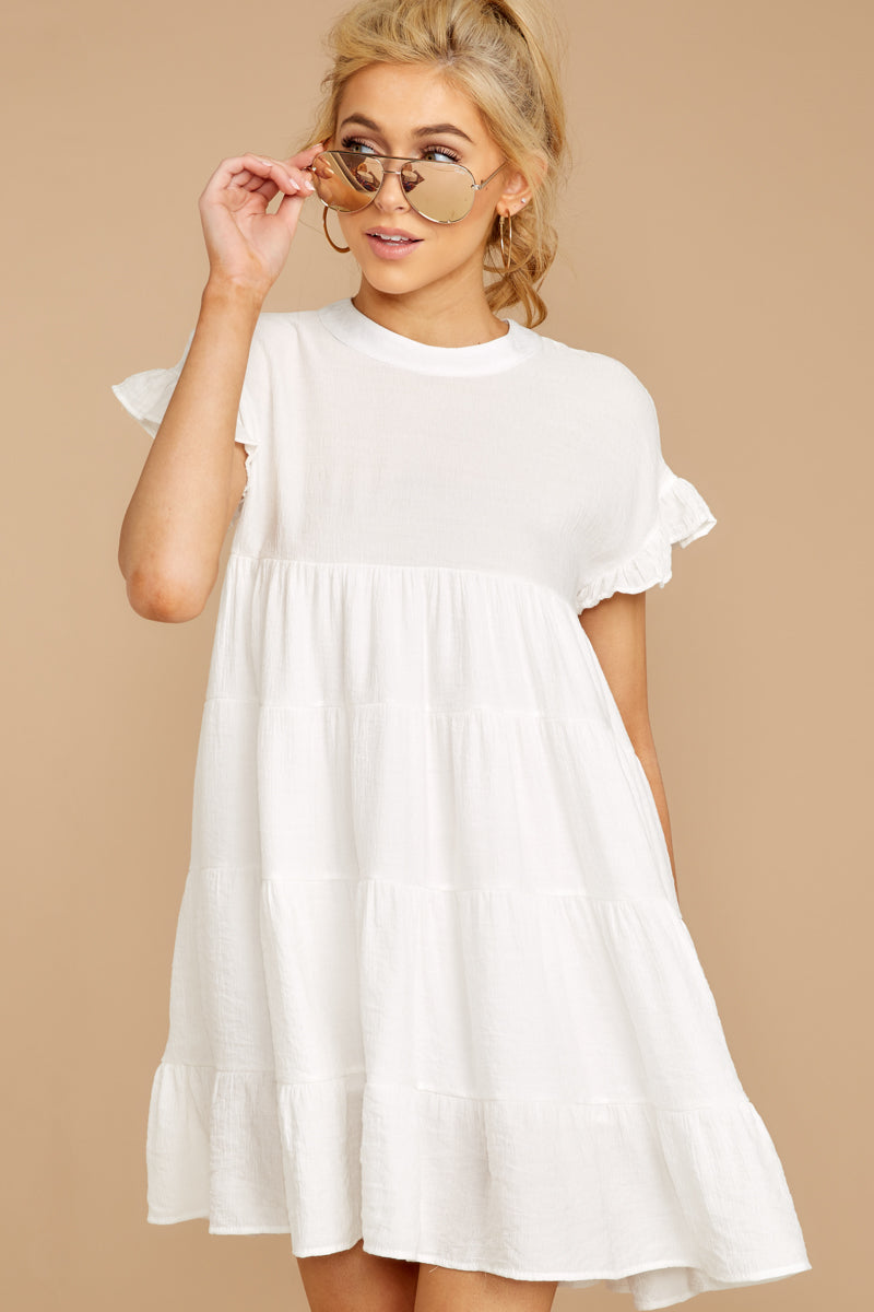 8 Nothing More Nothing Less White Dress at reddressboutique.com
