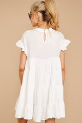 9 Nothing More Nothing Less White Dress at reddressboutique.com