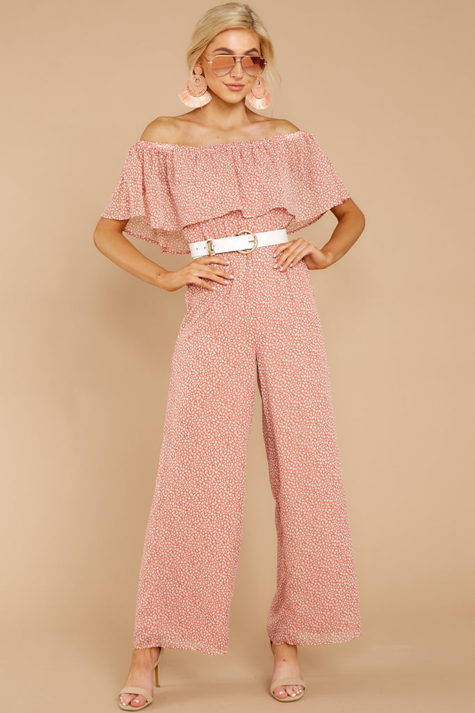 1 Summertime Romance Rose Pink Jumpsuit at reddressboutique.com