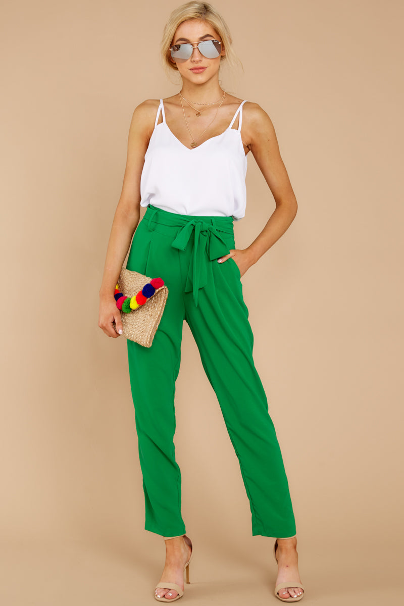 2 Call It Now Kelly Green Pants at reddress.com