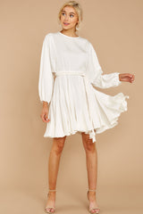2 Everyday Here White Dress at reddressboutique.com