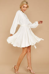 3 Everyday Here White Dress at reddressboutique.com