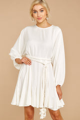 4 Everyday Here White Dress at reddressboutique.com