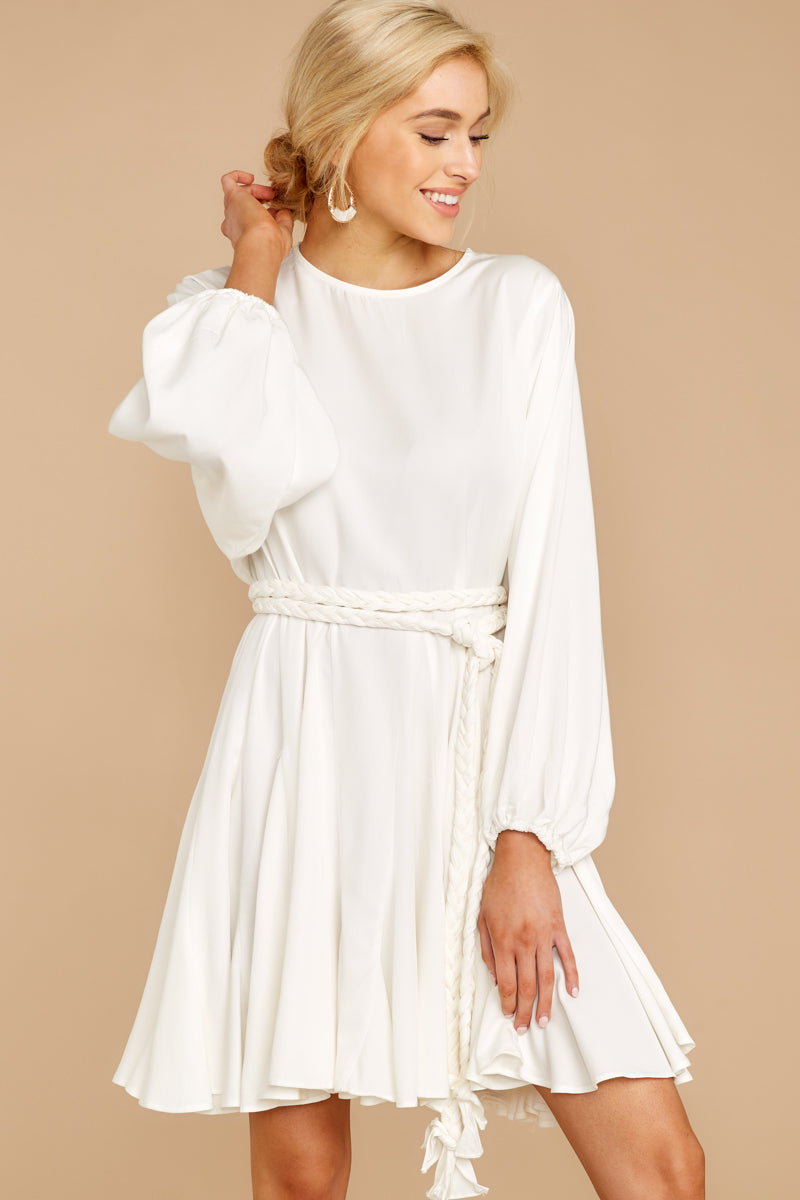 5 Everyday Here White Dress at reddressboutique.com