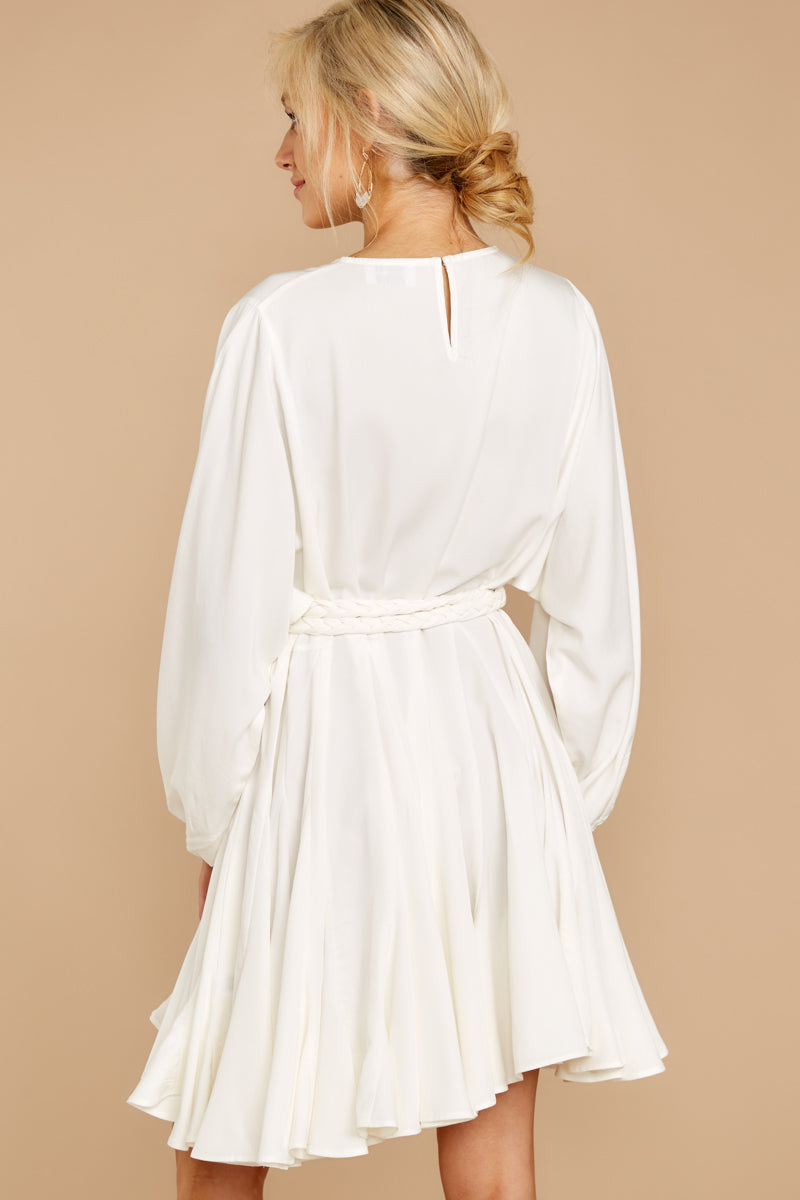 7 Everyday Here White Dress at reddressboutique.com