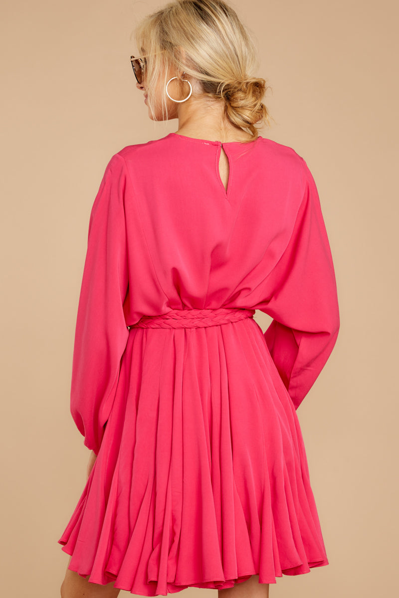 7 Everyday Here Hot Pink Dress at reddressboutique.com