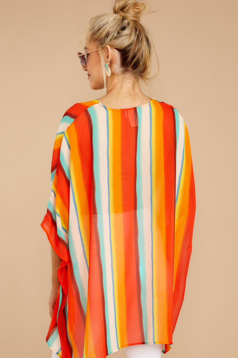 5 Sure Thing Poncho In Summer Heat at reddressboutique.com