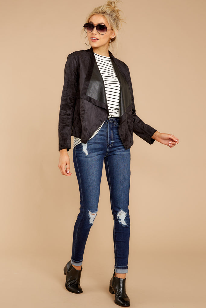 2 Best Choice Medium Wash Distressed Skinny Jeans at reddressboutique.com