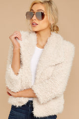 5 Night Out In The City Ivory Coat at reddressboutique.com