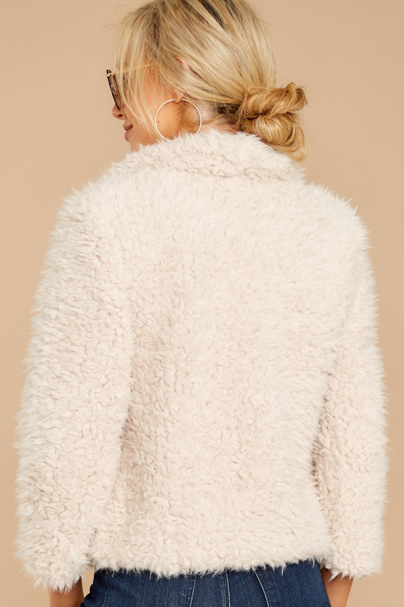 7 Night Out In The City Ivory Coat at reddressboutique.com