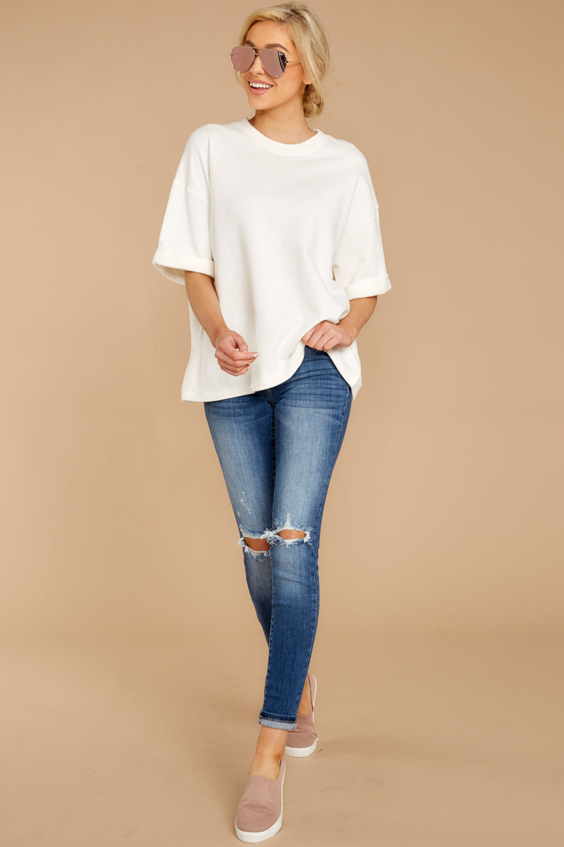 1 Give Me Your Best White Top at reddressboutique.com