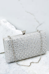 3 Statement Style Silver Clutch at reddressboutique.com
