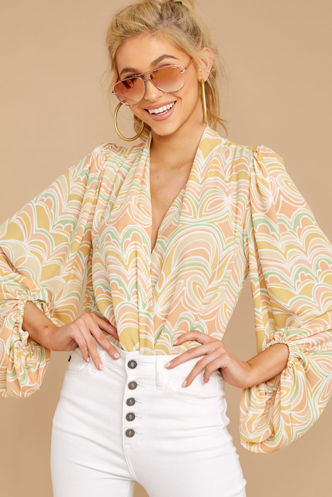 6 Sure Thing Poncho In Summer Heat at reddressboutique.com