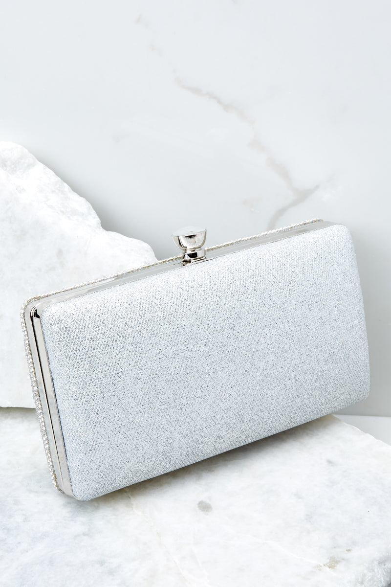 5 Statement Style Silver Clutch at reddressboutique.com