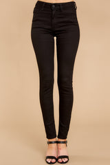 2 Can't Make Me Black Skinny Jeans at reddressboutique.com