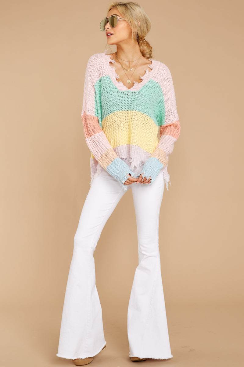 3 Already Gone Sweater In New Beginnings at reddressboutique.com