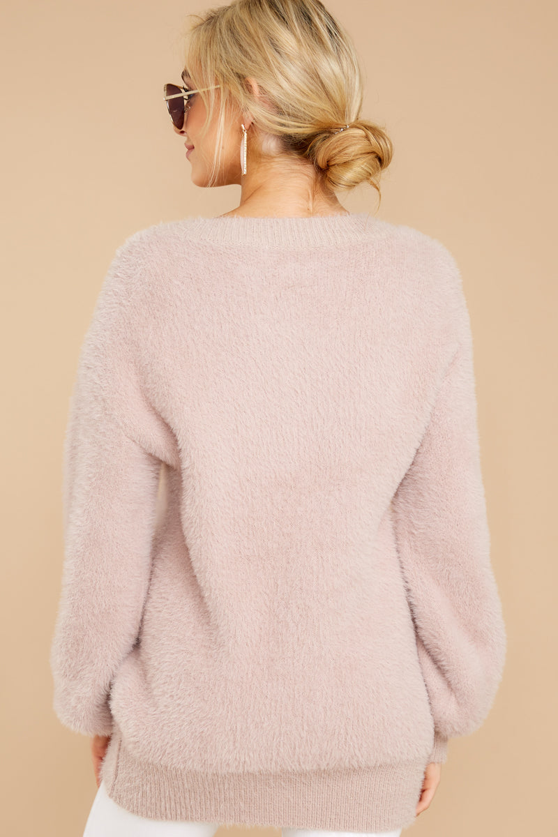 7 Feel It Still Blush Sweater at reddress.com