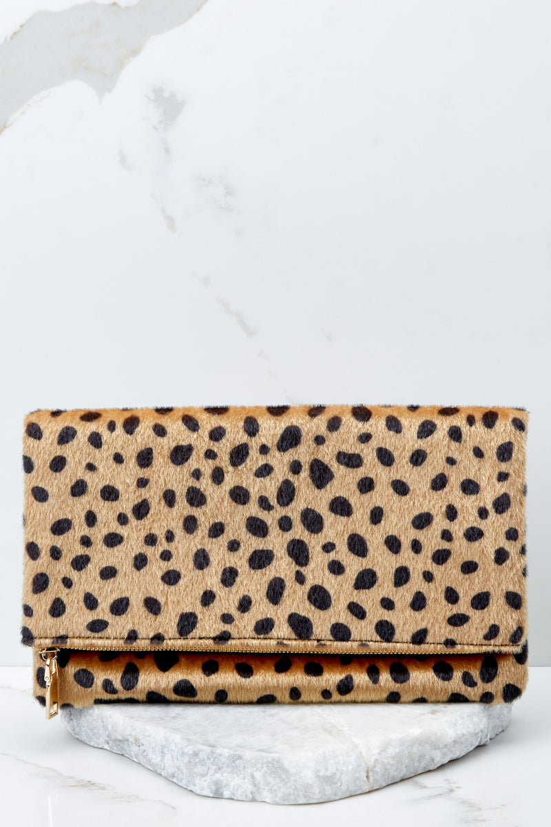 2 Concrete Jungle Cheetah Print Clutch at reddress.com