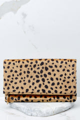 8 Concrete Jungle Cheetah Print Clutch at reddress.com